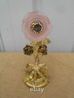 Applies Fleurie Vintage Art Nouveau Style Louis 16 Bronze Dore