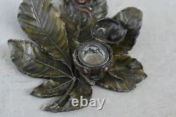 Art Nouveau-style Tin Ink 1900 Chestnut