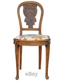 Art Style Chair Beech 1900 New Thistles