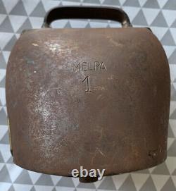Authentic Swiss Bell Bell Ring Swiss Melpa 1 Style Devoussoud Chamonix
