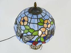 Beautiful Tiffany Butterfly Lamp Or Tiffany Style, Art Nouveau Style