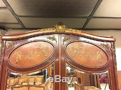 Bedroom Louis XVI Style Gilt Bronze 1900