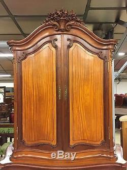 Buffet Louis XV Style Mahogany Cabinet Lemon 1900
