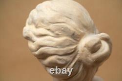 Bust Statuette Bust Terracotta Old Woman Style Art Nouveau 1900 Le Guluche