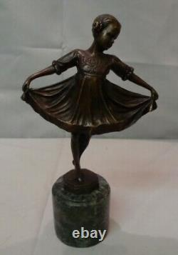 Classic Statue Style Art Deco Style Art New Solid Bronze Sign