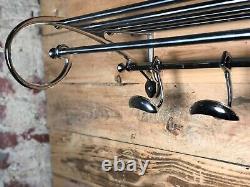 Clothes Rack / Towels Rome Express Style Art Deco Chrome Length 78 CM