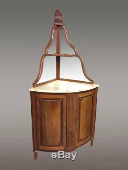 Corner Louis XVI Style Mahogany