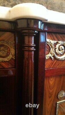 Dining Room Louis XVI Style Gilded Bronzes