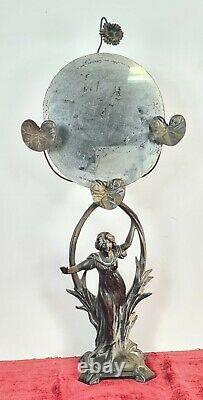 Dressing Mirror. Metal. Art Nouveau Style. Spain. Properties XX Century