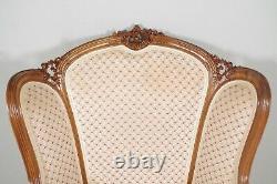 Earrings Style Louis XV 1900 Walnut