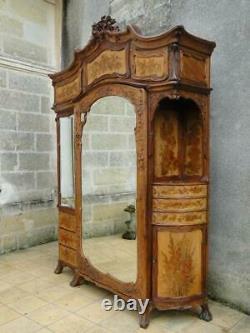 Furniture Art Nouveau Wardrobe And Dresser Psyche Jugendstil 1900 Modern Style