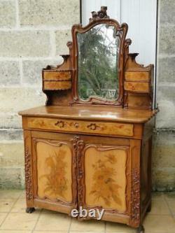 Furniture Art Nouveau Wardrobe And Psyched Dresser Jugendstil 1900 Modern Style