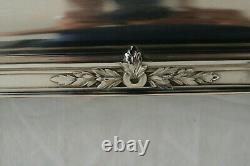 Gallia Christofle Plateau, Louis XVI Style, Silver Metal