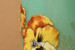 Glass Vase Flowers Thoughts Style Legras Montjoye Moser Lamartine Art Nouveau 1900