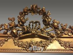 Grand Golden Mirror Louis XVI In 1900
