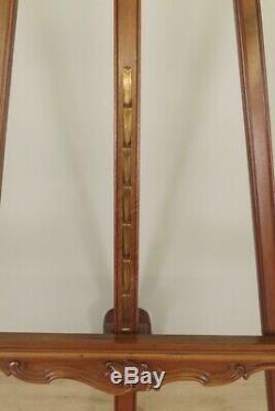 Grand Rockery Walnut Easel Presentation 1900s