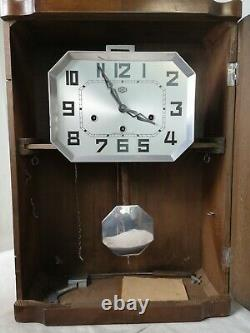 Horloge Pendule Carillon 6 Tiges Style Art Nouveau Odo Circa 1890 Decoration Kn