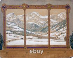Hugo Höppener Fidus Lauenental Gstaad Wildhorn Style Art Nouveau Winter