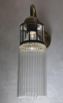 Lamp Art Deco Wall Sconce Antique Glass Wall Lighting Decorative Retro Style