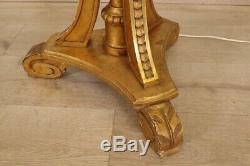 Lamp Gilded Wood Louis XVI Style