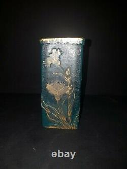 Little Vase Bleu Daum Nancy From Art Nouveau Style