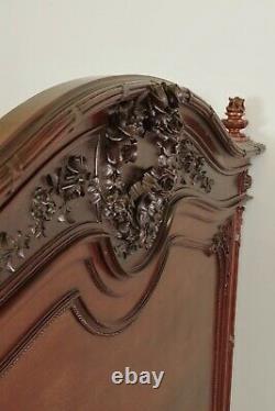Louis XVI Mahogany Style Bed