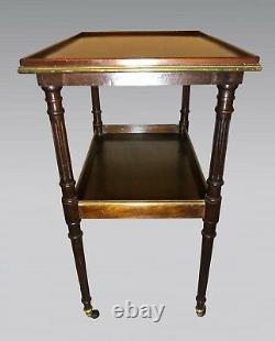 Louis XVI Style Mahogany Tea Table
