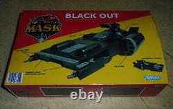 M. A. S. K. Kenner Mask Black Out For Vintage Collection Style Cutom Fan Art