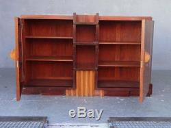 Mahogany Sideboard Art Deco Cubist