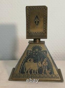 Matching Door Erhard & Söhne Darmstadt 1900s Art Nouveau Egypt Style