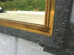 Mirror And Frame Wood Old Style Louis Philippe Epoque Art Nouveau 1900 Design