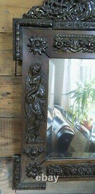 Mirror Old Style Art New Copper Repulsed