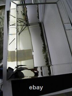 Modern Miroir A 13 Parts Biseautés Style Art New An 2000 H 92 X 66 CM
