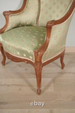 Pair Of Bergers Style Louis XV Walnut 1900