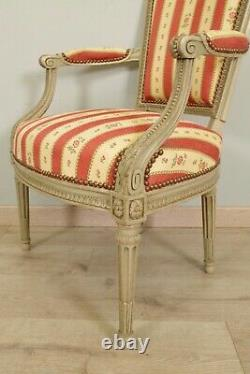 Pair Of Chairs Style Louis XVI