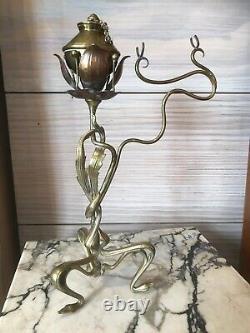 Pair Of Floral Movements De Art Deco Art Nouveau
