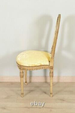 Pair Of Louis Xvi-style Chairs Lay Wood