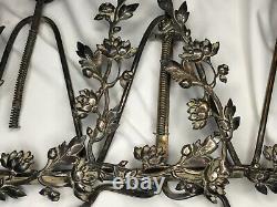 # Photo Frame To Pose Late XIX Ancient, Art Nouveau Style, Lion Decor, Flower
