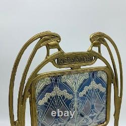 Photograpie Cast Brass Frame Art Nouveau Style Hector Guimard XX