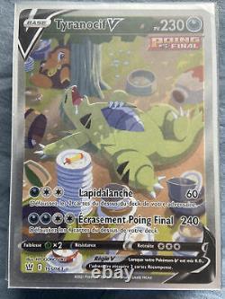 Pokémon Tyranocif V Card Full Art 155/163 Combat Styles En New