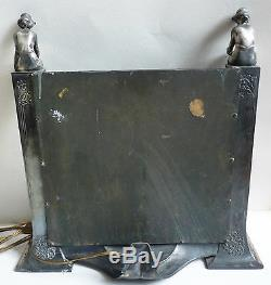Psyche Dressing Table Mirror Art Nouveau Women Statuettes Jugendstil Modern Style