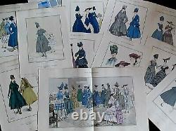 Rare Fashion Review The Parisian Style No. 7 Of 1916 Luxury Fashion