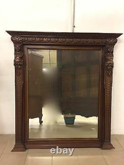 Renaissance-style Walnut Mirror 1900