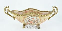 Savon Flower Style Art Deco Porcelain Porcelain
