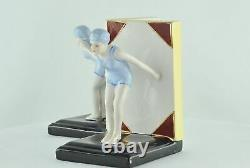 Serre-books Figurine Bathing Pin-up Sexy Diving Style Art Deco Style Art N