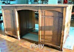 Serrurier-bovy-style Art Nouveau Oak Office