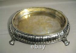 Silver Metal Table Center In Style Louis XVI Goldsmith Argit Early XX Th