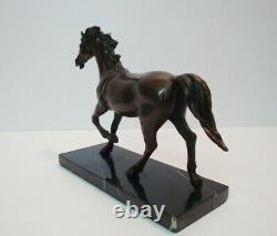 Statue Animal Horse Style Art Deco Style Art Nouveau Bronze
