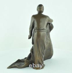 Statue Sculpture Mat Marchand Oriental Style Art Deco Style Art Nouveau Bro
