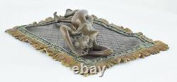 Statue Sculpture Nymph Sexy Style Art Deco Style Art New Solid Bronze Sign